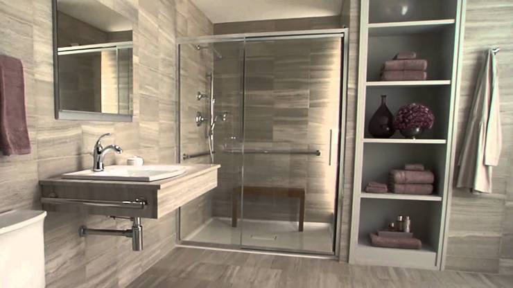 Contemporary Accessible bathroom